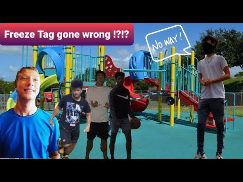 Freeze tag gone wrong