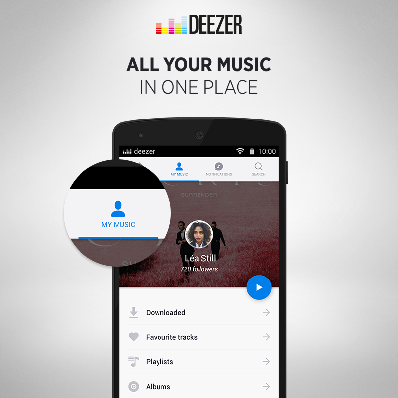 Discover new music app android