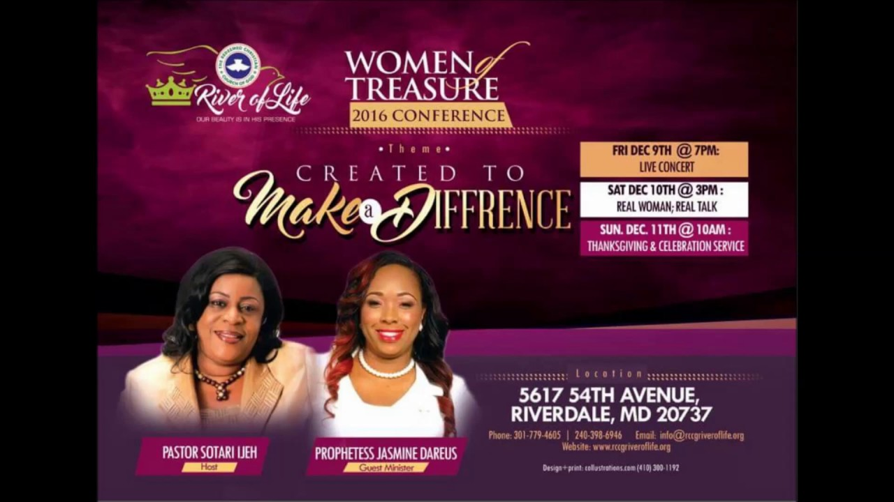 Rccg womens conference