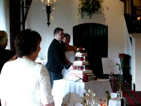 Pipers toast wedding