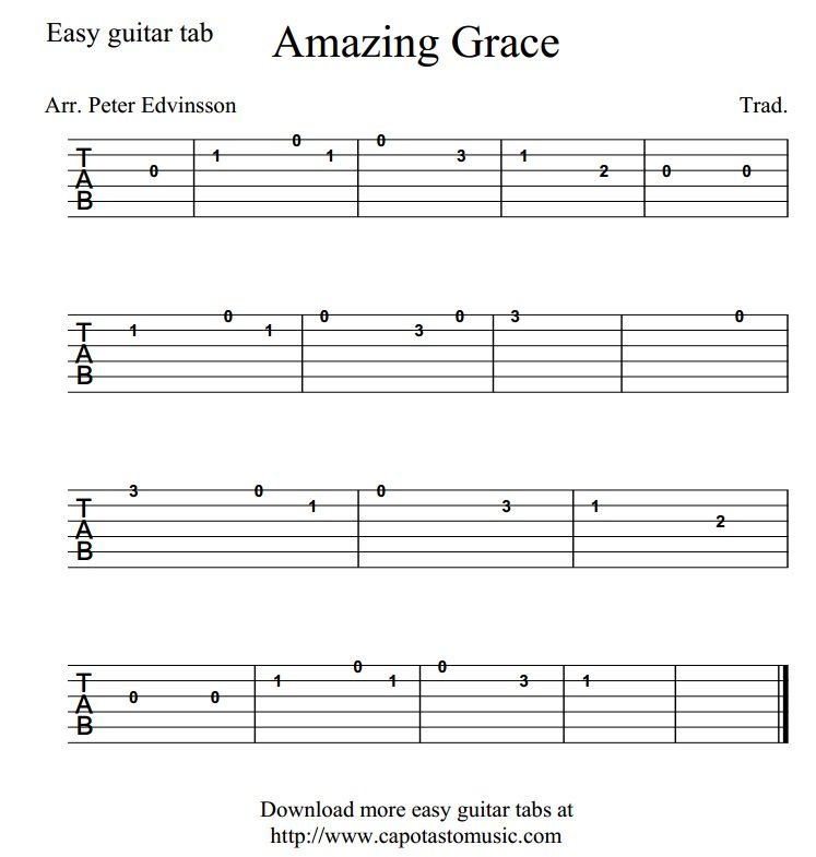 Most popular guitar songs for beginners